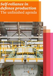 Self-reliance in defence production: The unfinished agenda