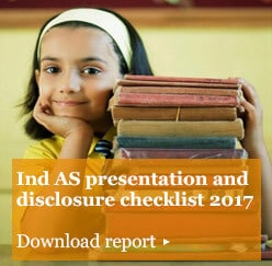 Ind AS presentation and disclosure checklist