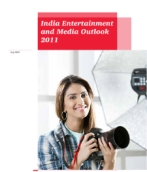 India Entertainment and Media Outlook 2011