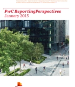 PwC ReportingPerspectives: January 2015