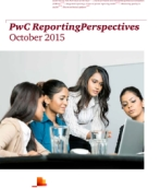 PwC ReportingPerspectives: October 2015 in India
