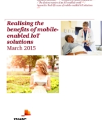 Realising the benefits of mobile-enabled IoT solutions