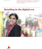 Retailing in the digital era